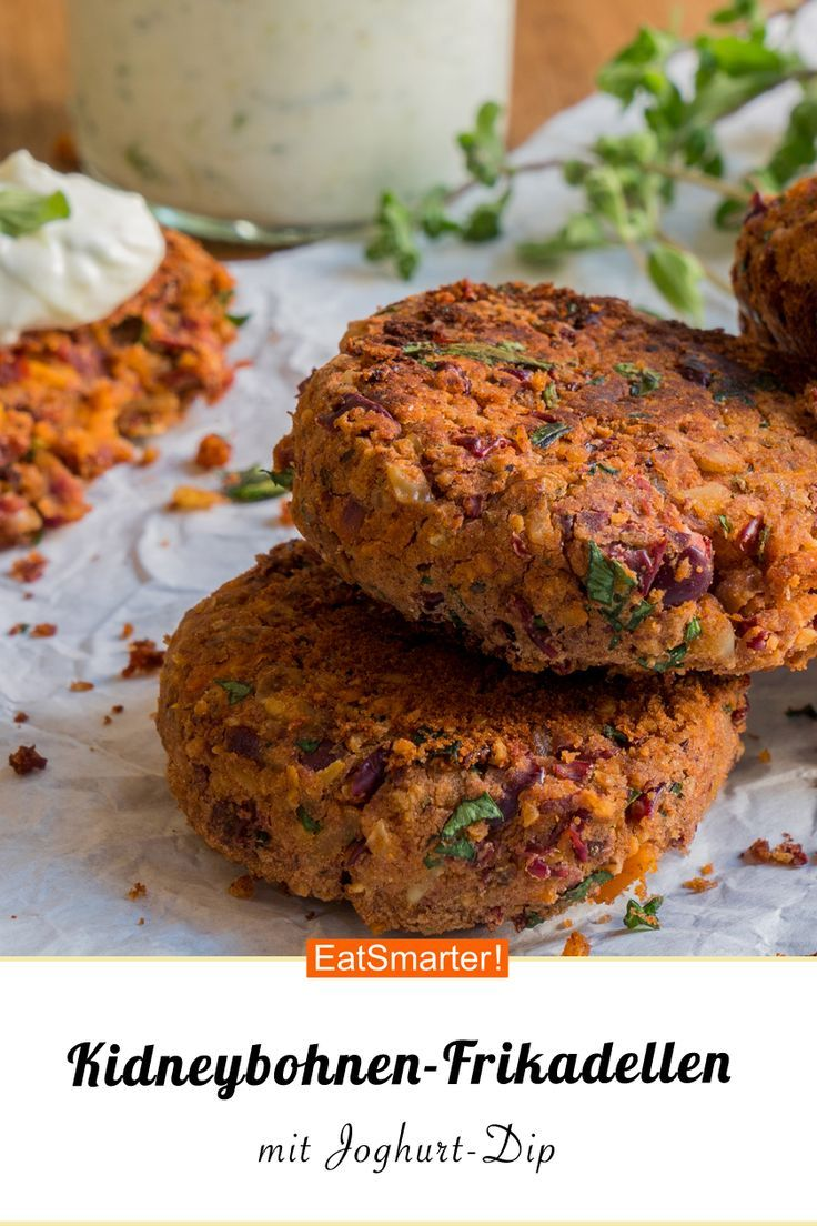 Ob als leichtes Mittag- oder Abendessen – diese Kidneybohnenpastetchen sind …   – Vegetarische Rezepte