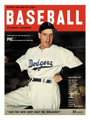 Brooklyn Dodgers Manager Leo Durocher - 1947