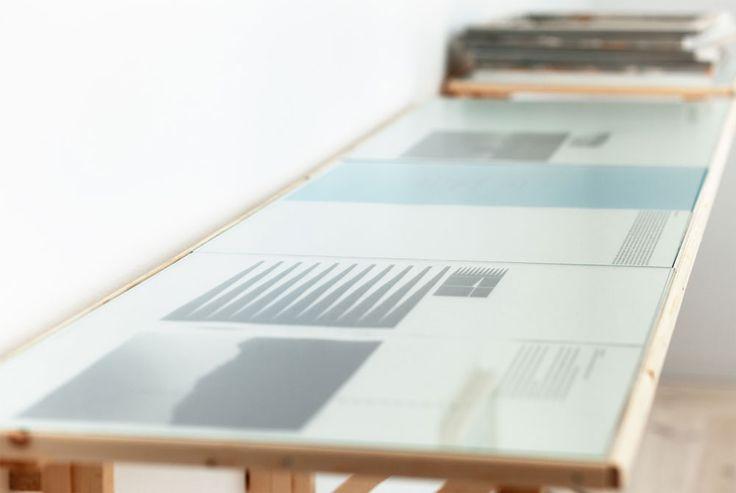 the Continuing Studies of Space. Artifact: prints. Exhibited at Bildmuseet Umeå, Sweden