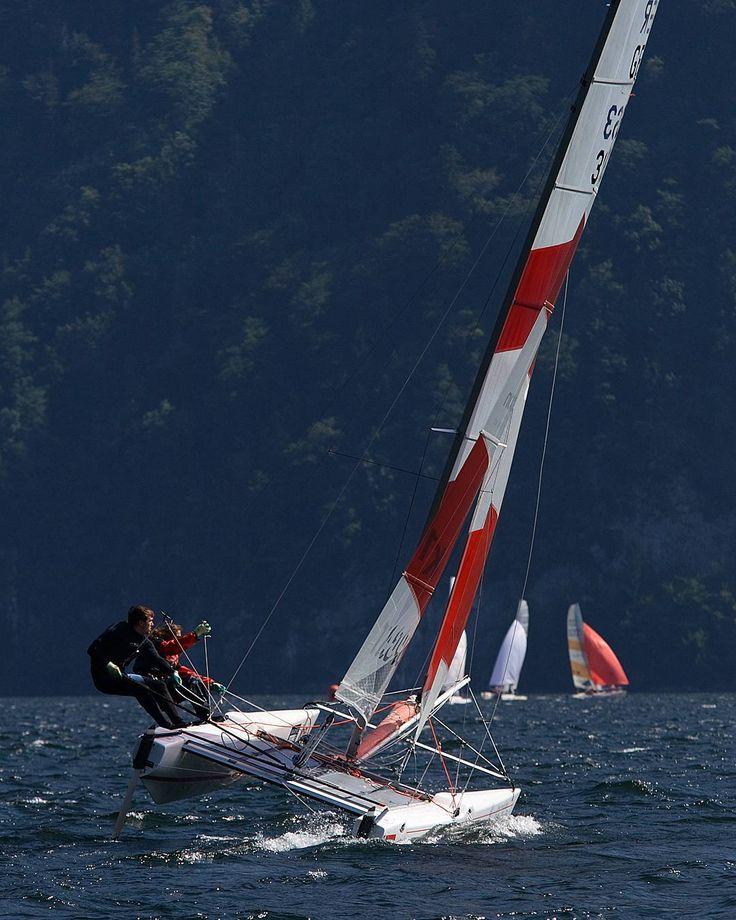 TOPCAT - RIDER  #topcatsailing #catamaran #gopro #nextgeneration #sail #sailing #sailingextreme #ocean #sea #regatta #watersport #fun #speed #katamaran #segeln #photooftheday #awesome #instasail #cruising #boat #picoftheday #view #season #italy #handmade #production #summer #sailboat #emotion #boat #lakegarda by topcatsailing