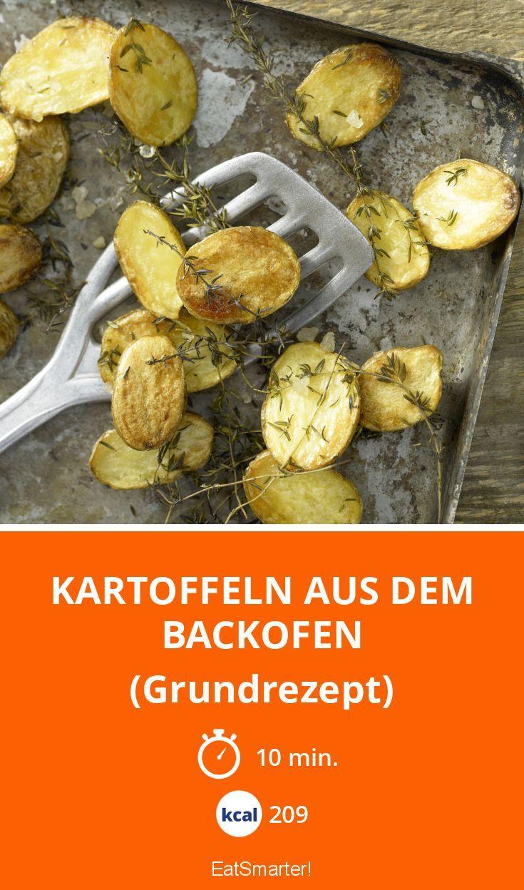 Kartoffeln aus dem Backofen - (Grundrezept) - smarter - Kalorien: 209 Kcal - Zeit: 10 Min. | eatsmarter.de