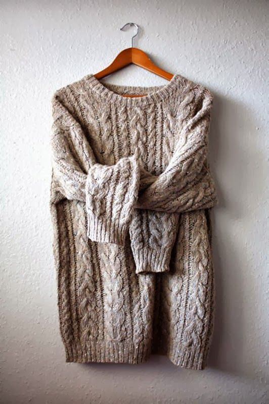 cable knit fisherman's sweater