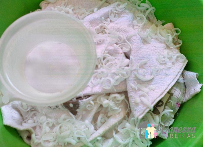 Como clarear roupas brancas de forma econômica