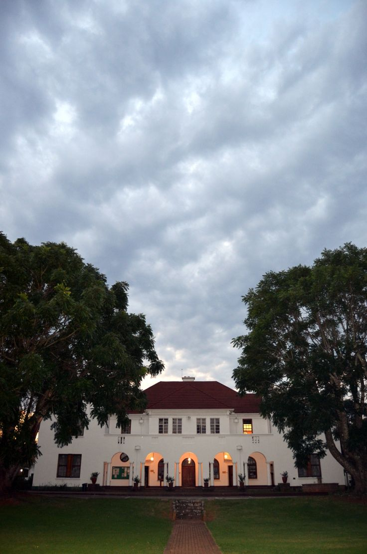 Big sky over Webster House at twilight by Rosemary Hall