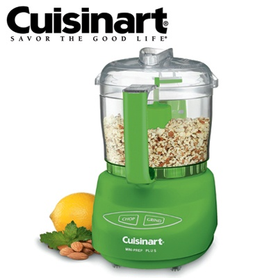 Cuisinart Mini-Prep Plus Processor - Premier Food Chopper Grinder with 3 Cup (700ml) Capacity - Green