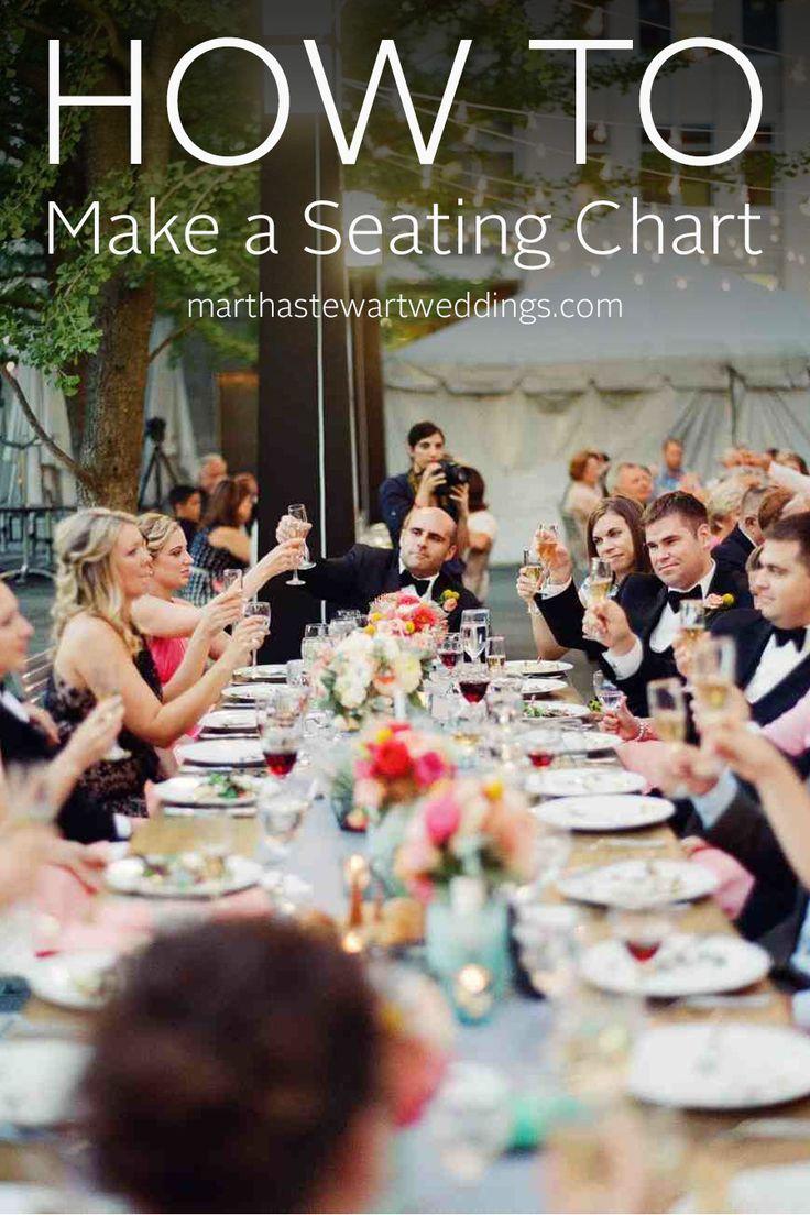 How to Make a Seating Chart | Martha Stewart Weddings