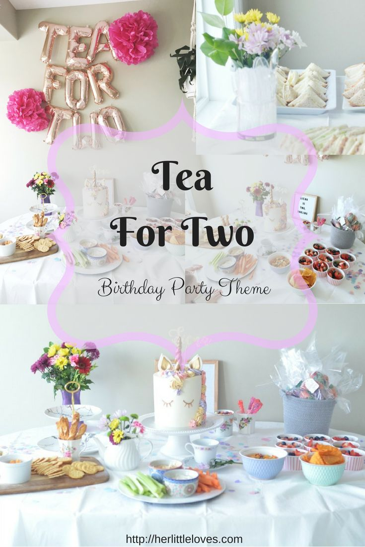 Tea For Two - A Second Birthday Party Theme  2Nd Birthday -4779