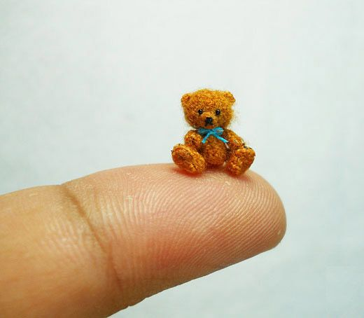 9 Cute Miniature Crochet Animals...I would like each of you to make me one :) @Meghan Gallagher @Lisa Gallagher