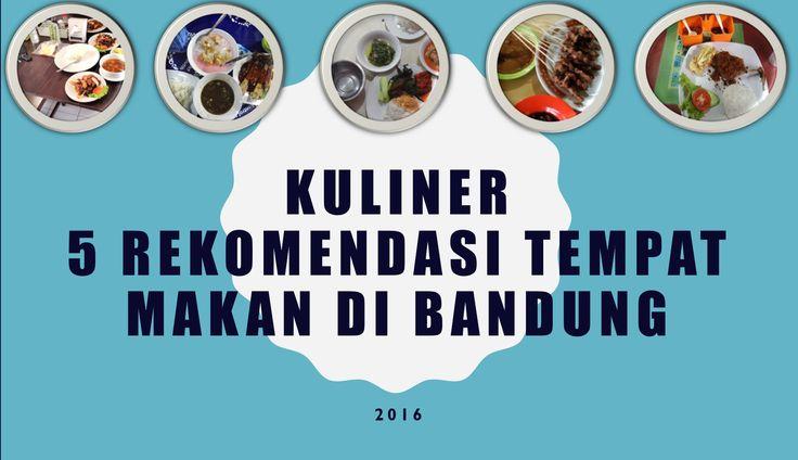 Review: Kuliner Bandung