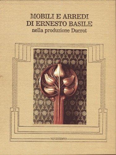 Mobili e arredi di Ernesto Basile nella produzione Ducrot. Palermo 1980. Bello! | eBay