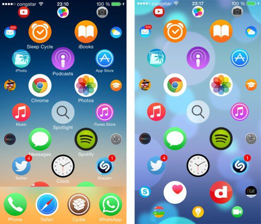 Get the Apple Watch Home Screen on the iPhone