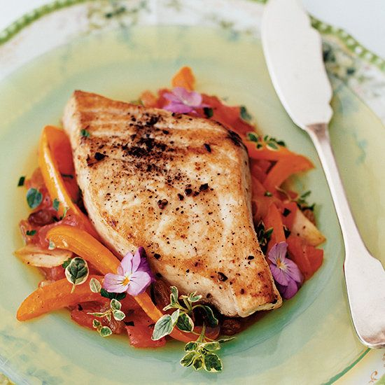 Sweet-and-Sour Swordfish | Food & Wine