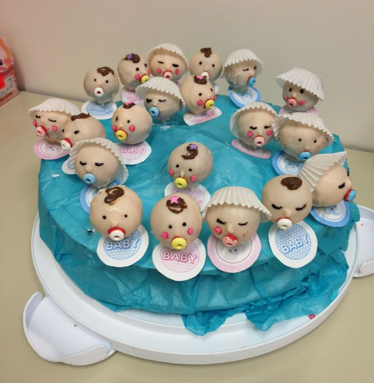 Cake Pop Designs For Baby Shower : baby shower cake pops This idea came from the queen of ...
