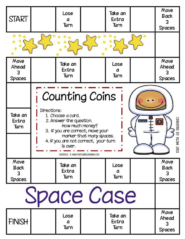 Perfect Printable Maths Board Games Ks1 Inspiration - Math ...