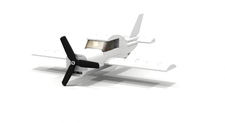 lego city airport plane moc