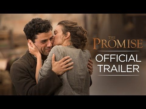 """The Promise - Official Trailer  - In Theaters April 21, 2017 """"Empires fall, love survives."""" - Starring Christian Bale, Oscar Isaac and Charlotte La Bon. Directed by Terry George. 