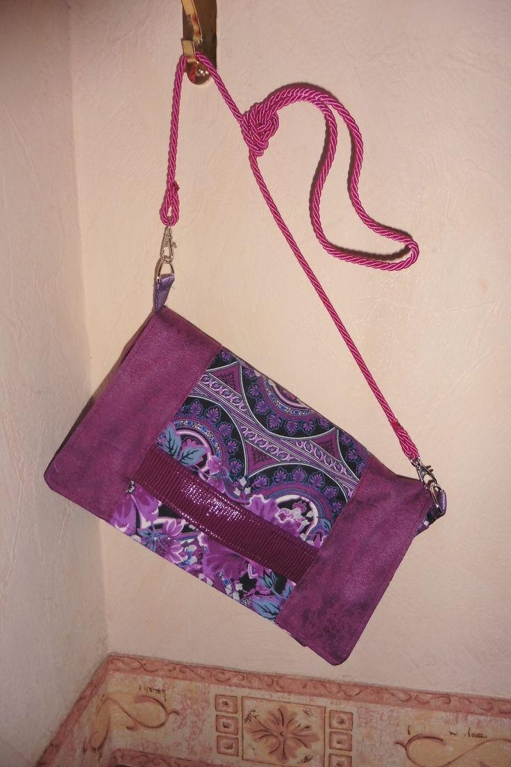 Pochette cach tin cousue par isabelle patron gratuit sac tin sacs cach tin bags - Patron pochette couture gratuit ...
