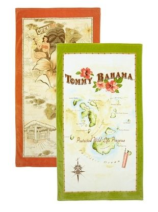 50% OFF Tommy Bahama Islands Beach Towel Set