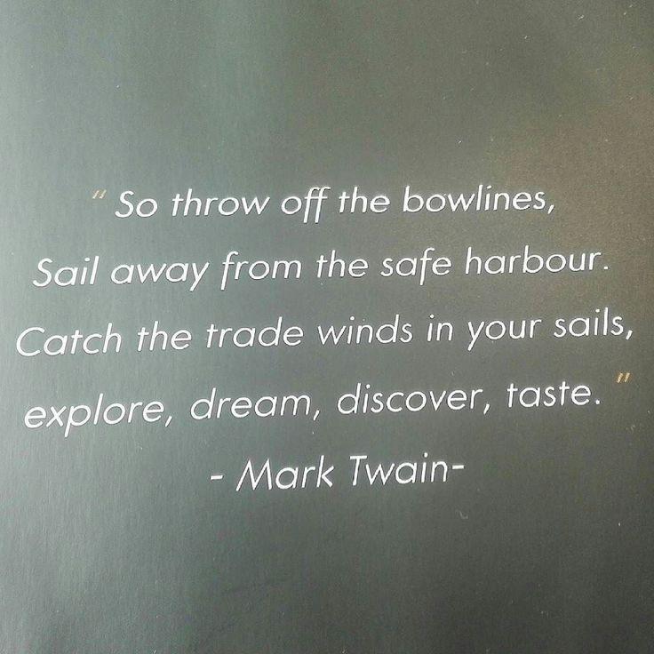 Deja el puerto seguro...explora sueña descubre prueba...qué inspirador! #perfecto4u #greenworking #quotes #inspiration