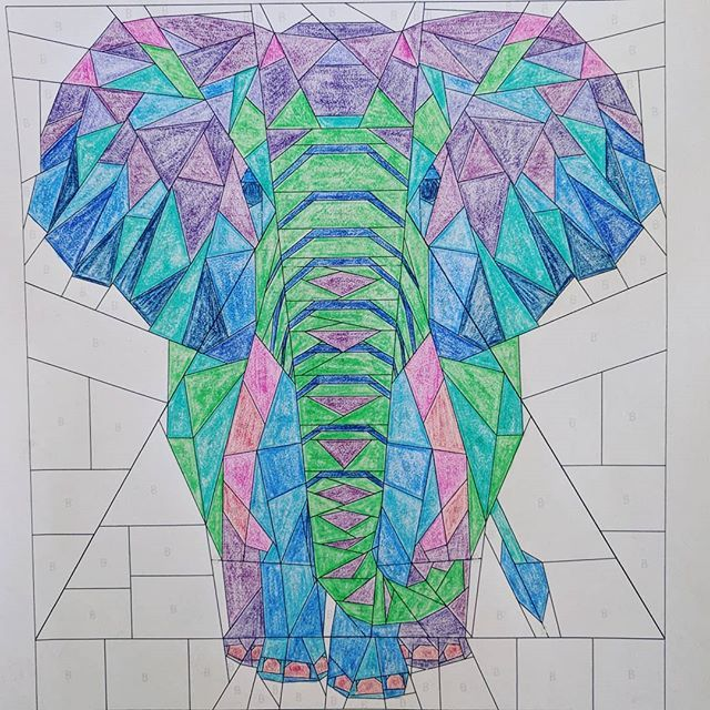 Image Result For Elephant Abstractions Quilt Violet