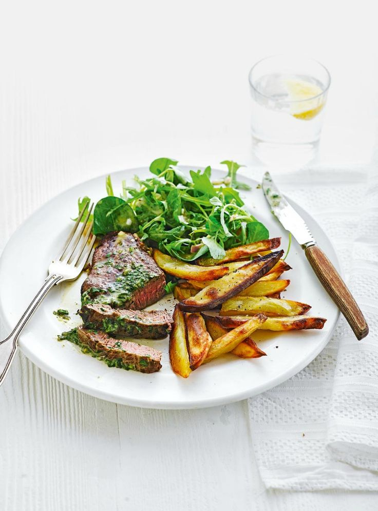 This easy, yet elegant, steak frites recipe will make you feel like you're dining at a French bistro.