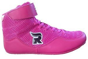 Rasslin' Youth Kids Girls Boys MMA Wrestling Shoes (Pink) NEW