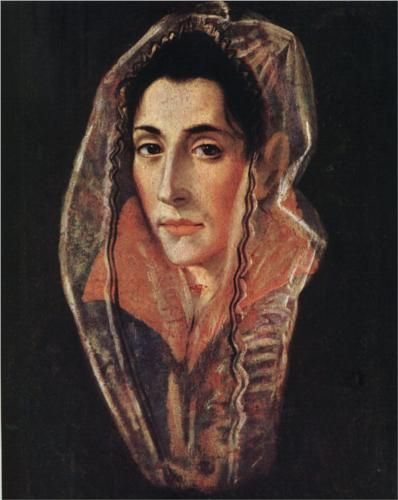 Female portrait - El GrecoGreco Doméniko, Greco 15411614, Female Portraits, Portraits Female, Philadelphia Museums, Doméniko Theotokópoulo, Art Painting, Artmannerismel Greco, Portraits Philadelphia