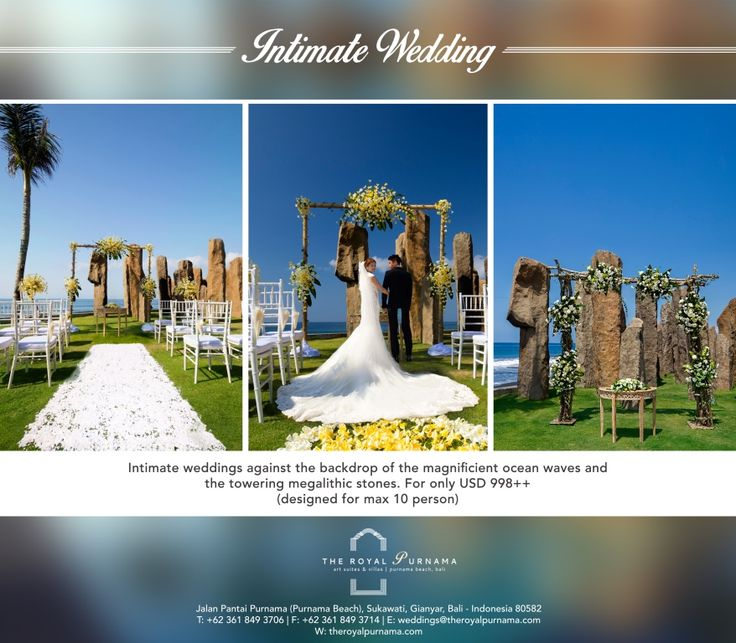 We offer the perfect destination to have an intimate wedding with a lavish scenery.