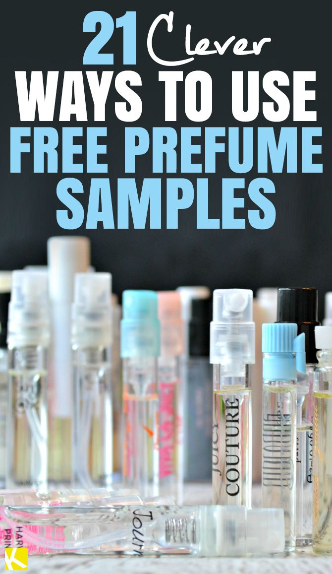 22 Freaking Clever Ways to Use Free Perfume Samples