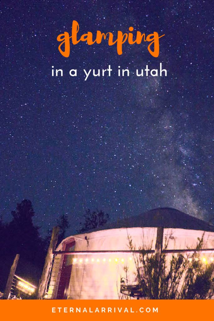 Go glamping in luxury just outside one of Utah's most beautiful places -- Zion National Park! Stay in a yurt underneath the Milky Way by night and hike the Narrows and Angels Landing by day. Check it out to see inside this gorgeous yurt!