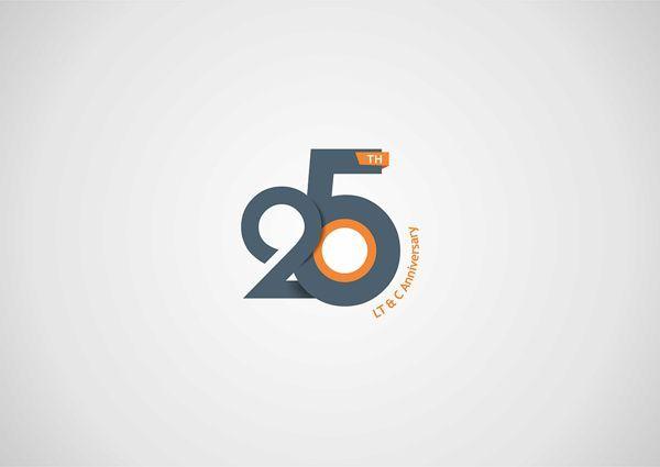 25th Anniversary Logo Design by Steeze Rocha Abiola, via Behance ...