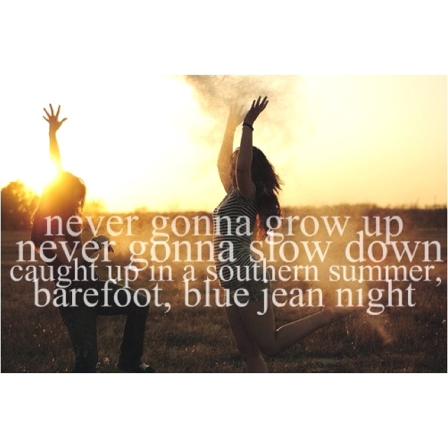 Barefoot Blue Jean Night Summmer Time Pinterest Country Lyrics