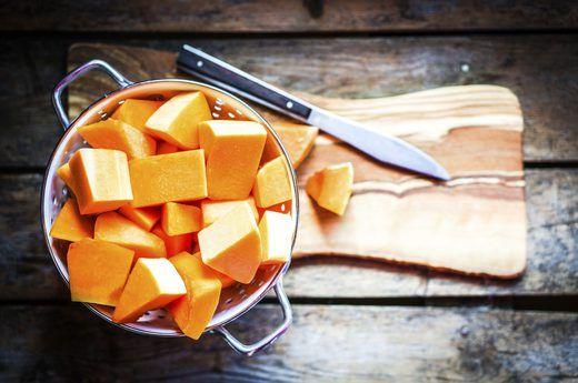 1. Diced Pumpkin