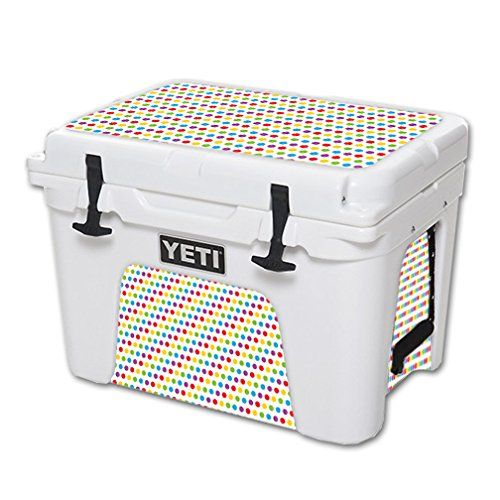 MightySkins Protective Vinyl Skin Decal for YETI Tundra 35 qt Cooler wrap cover sticker skins Candy Dots >>> You can find more details by visiting the image link.(This is an Amazon affiliate link and I receive a commission for the sales)