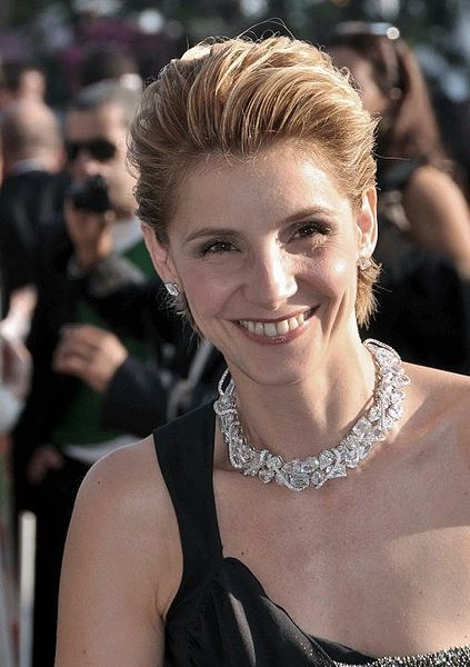 """Clotilde Marie Pascale Courau (alternatively Clotilde, HRH The Princess of Venice and Piedmont or Clotilde Filiberto di Savoia; 3 April 1969) is a French actress, and the wife of Emanuele Filiberto, a member of the House of Savoy and the grandson of the last King of Italy. She is sometimes referred to as """"Princess of Venice and Piedmont""""."""