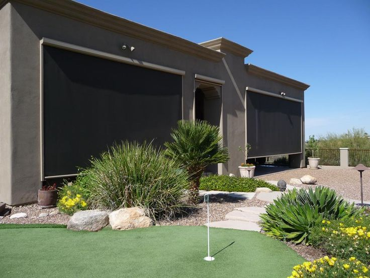 Solace Solution Screens @SolaceScreens are the Okanagan's choice for shade, privacy, and insect protection.