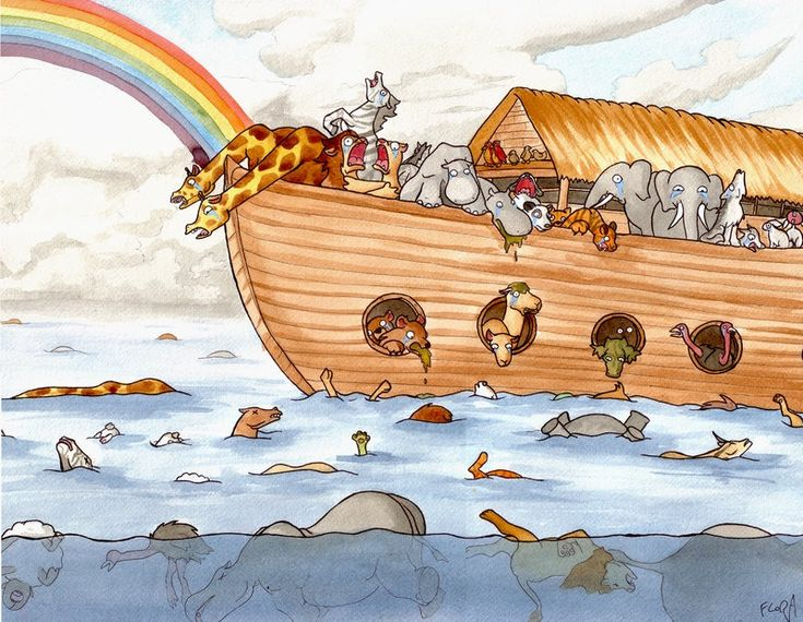 The real Noah's Ark experience.