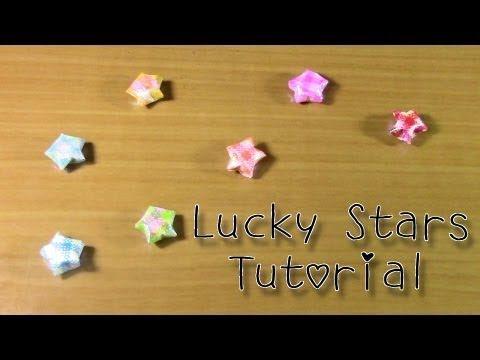 Lucky Star Tutorial☆ラッキースター折り方
