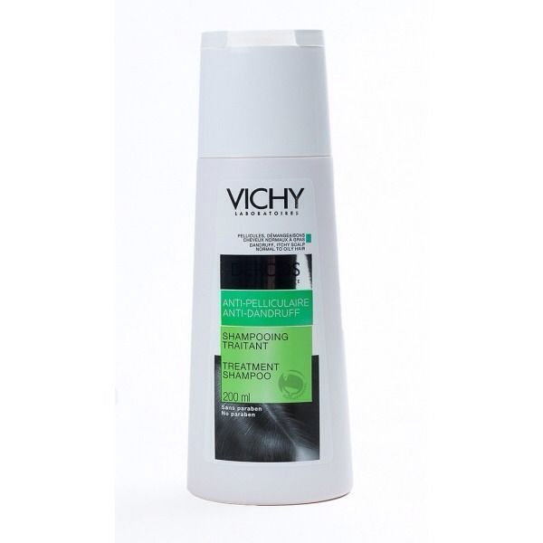 Vichy Dercos Anti Dandruff Shampoo For Oily & Itchy Scalp 200Ml