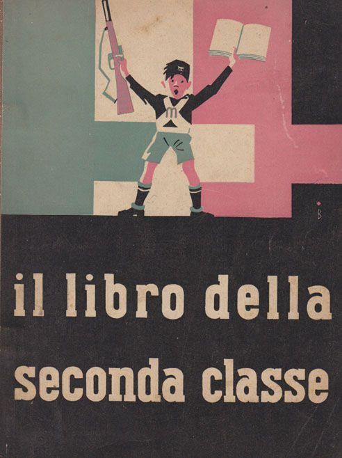 Italian facist children's book .https://www.facebook.com/storiciesalottiere