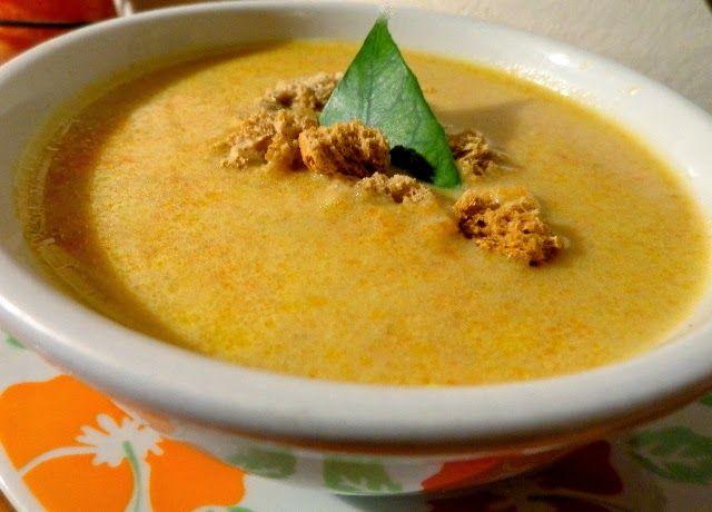 Σούπα βελουτέ καρότου - Απίστευτη η γεύση της ! ~ ΜΑΓΕΙΡΙΚΗ ΚΑΙ ΣΥΝΤΑΓΕΣ