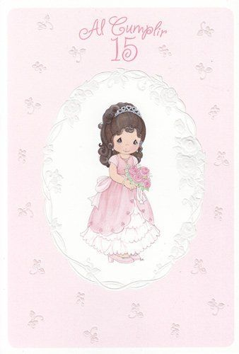 9 best my quince ideas images on pinterest quince ideas greeting card birthday precious moments quinceanera as you turn 15 translation on back by greeting cards quinceanera 429 bookmarktalkfo Gallery