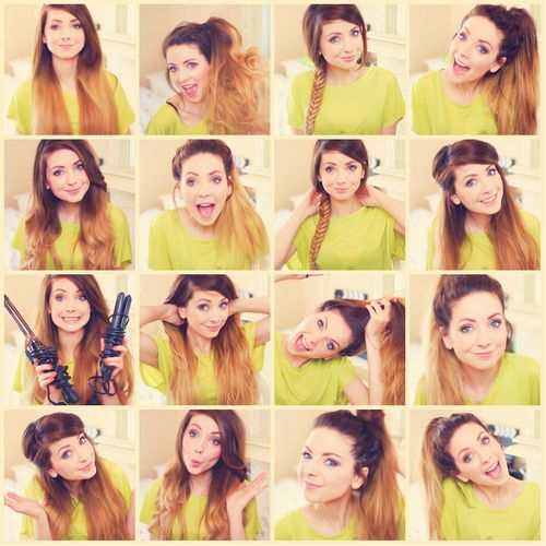 Loove how Zoella styles her ombré! I never know how to style mine soo.. :D