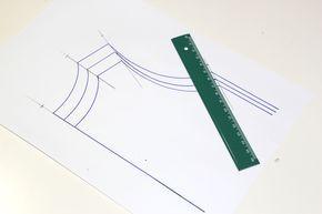 Cómo aumentar o disminuir tallas en los patrones. Clases de costura online gratis.