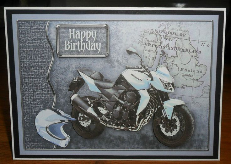 149 best Motorbike cards images – Motorbike Birthday Cards