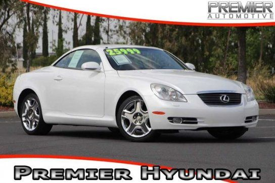 Convertible, 2007 Lexus SC 430 Convertible with 2 Door in Tracy, CA (95304)