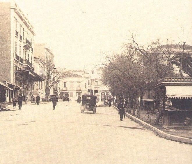 Πλατεία Κολωνακίου, 1926