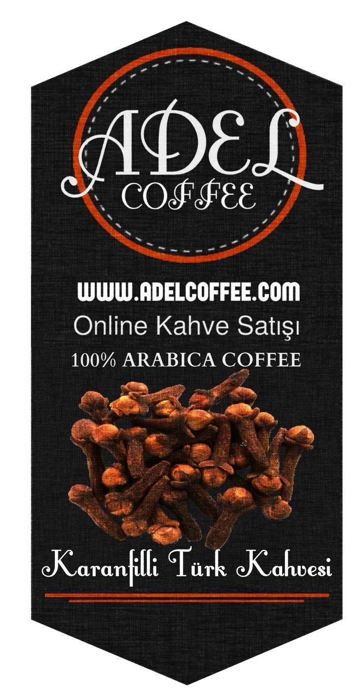 KARANFİLLİ TÜRK KAHVESİ http://adelcoffee.com/shop/karanfilli-turk-kahvesi/