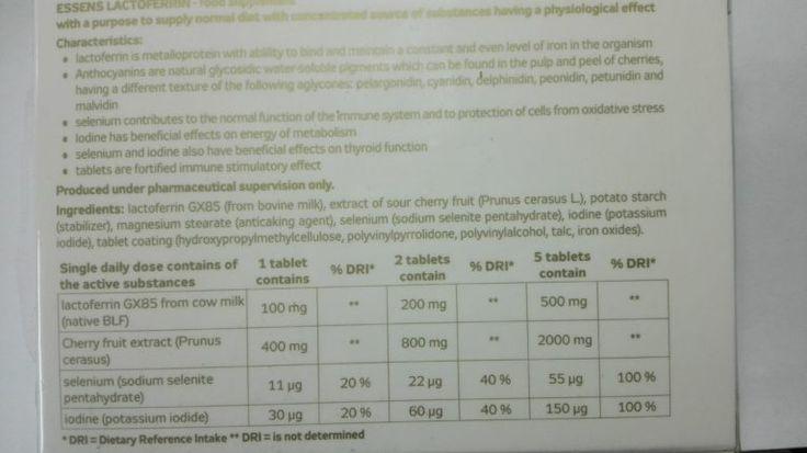 Lactoferrin se skládá ze 700 aminokyselin. Zajímavé je, že lidský a bovinní Lactoferrin se liší jen ve 2 aminokyselinách, přitom u jednotlivých lidí se může lišit až v 8 aminokyselinách! Lactoferrin využívaný v produktech ESSENS je získaný z bovinního mléka, protože je nejvíce podobné tomu lidskému a při srovnávacích testech má STEJNOU účinnost. http://essensclub.cz/essens-lactoferrin-novinka/