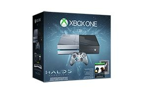Ooh I am a good wife.    The Xbox One Limited Edition Halo 5: Guardians Bundle includes custom 1TB Xbox One console and wireless controller, full game download of Halo 5: Guardians in a Spartan-themed SteelBook case, and more.